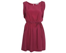 Magenta Sleveless Dress at Missselfridge
