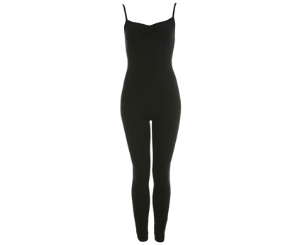 Jersey Unitard Black Missselfridge