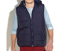 Padded Gilet at Newlook