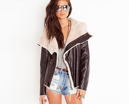 Aviator Jacket at Nastygal