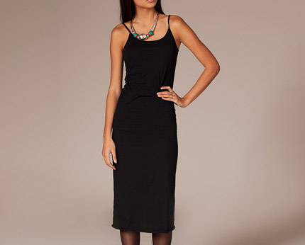 Black Lollo Midi Dress at Nelly