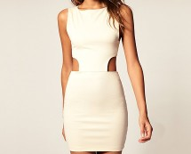 Bodycon Dress Cut-out Sides at Asos