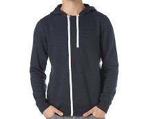 Double Zip Hoodie at Newlook