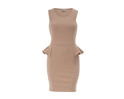 Peplum Dress at Dorothy Perkins