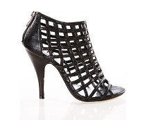 YSL Inspired Caged Heel Sandals at 5