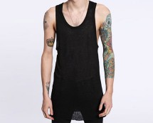 Black Vest at Urban Outfitters