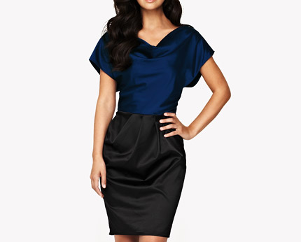 Myleene Klass Block Shift Dress at K and Co