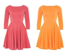 Flared Dress with Pockets at Awear