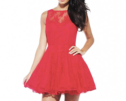 7e274188b8 Lace Kick Out Dress at AX Paris
