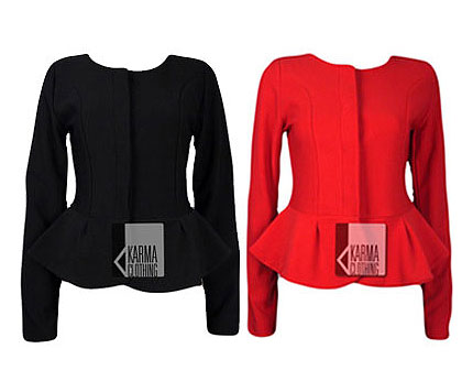 Peplum Blazer at Ebay