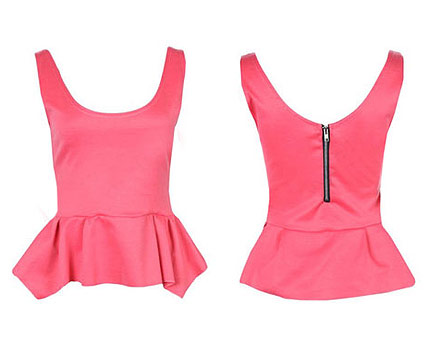 Peplum Top at Ebay