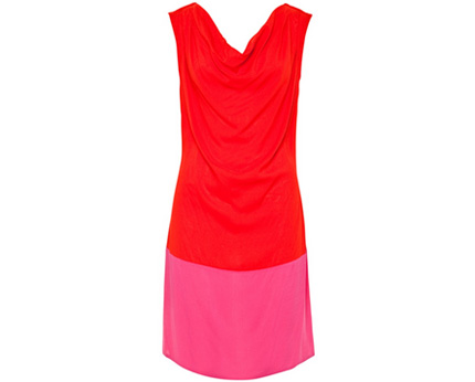 Two Colour Dress at Awear