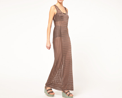 Maxi Sheer Dress at Asos