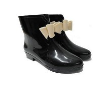 Ankle Bow Wellies at Ebay