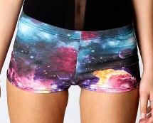 Galaxy Hotpants at Boohoo