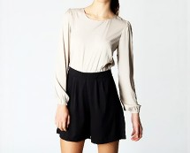Two Tone Playsuit at Boohoo