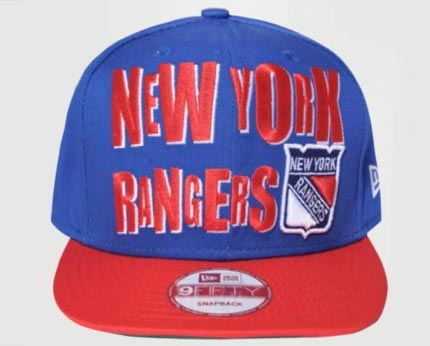 New Era NY Ranger Cap at Size