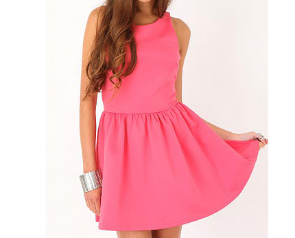 Pink Dress at Missguided
