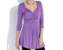 Purple Eve Top at Newlook