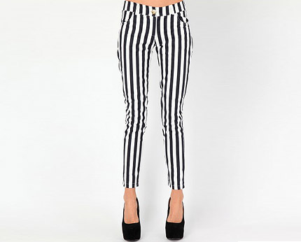 Striped Trousers at Missguided