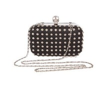 Studded Skull Clutch at Republic