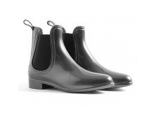 Black Ankle Wellies at Missguided