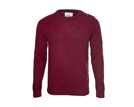 Button Neck Jumper at Republic