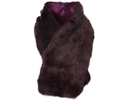 Fur Shawl at Missselfridge