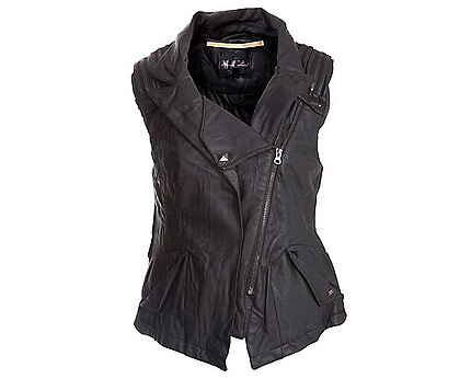 Leather Biker Jacket at Newlook