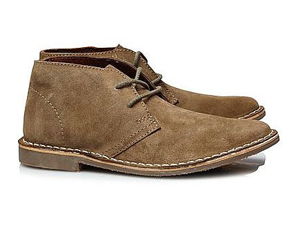 Mens Suede Boots at Asda