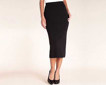 Plain Pencil Skirt at MarksandSpencer