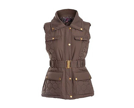 Quilted Gilet at Newlook