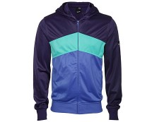 Blue Hooded Sweat at Bench