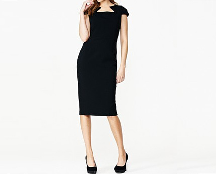 Cut Out Yoke Dress at Isme
