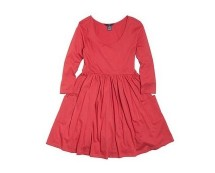 Fitted Skater Dress at Ellos