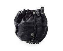 Leather Look Bucket Bag at Nelly