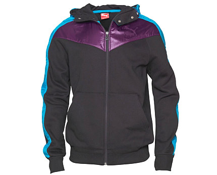 Puma Full Zip Hooded Sweat at Mandmdirect