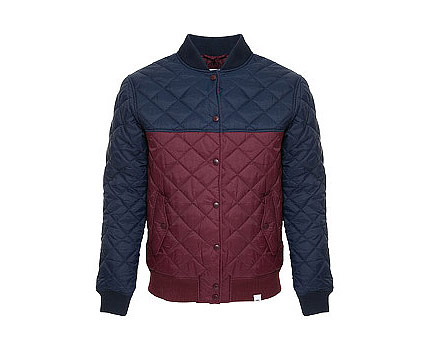 Quilted Bomber Jacket at Republic