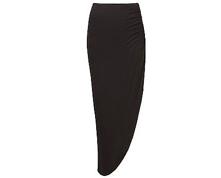 Side Sweep Maxi Skirt at Newlook