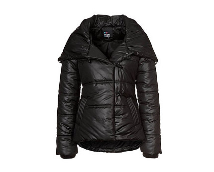 Winter Jacket Black Blue at Zalando