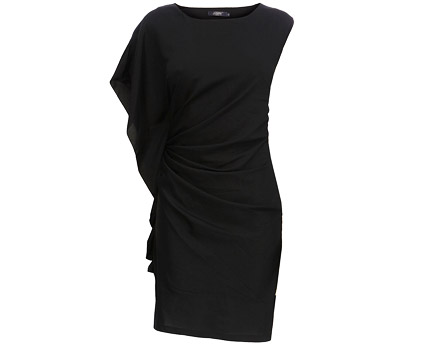 Asymmetrical Ruched Jasmine Dress at Bhs