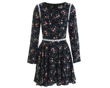 Love Macie Print Folky Tee Dress