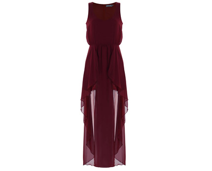 LOVE Ox Panel Front Halo Maxi Dress at ILWF
