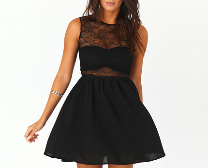 Marie Ann Sleeveless Skater Dress at Missguided