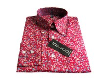 Men's Modern Vintage Floral Shirt at CX London