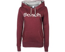 Womens Hoodie in Burgundy at Bench