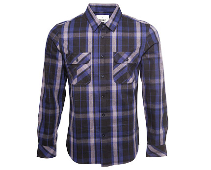 Blue Fabric Berlin Shirt at Republic