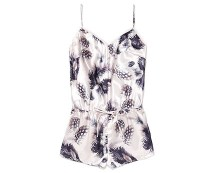 Feather Print Teddy Nightwear at Asda George