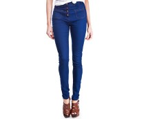 Blue High Waist Skinny Jeans at Republic