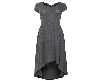 Jersey Dip Hem Dress at New Look